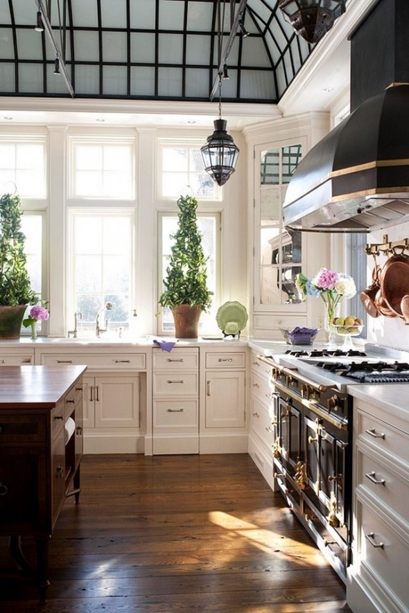 classic brit kitchen