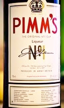 This is liquid yum!  See the recipe below for a Pimms Cup.