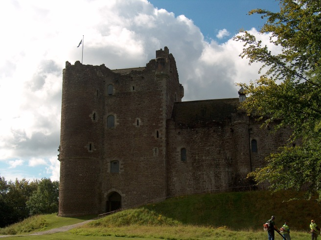 Doune Castle, Scotland, 2007--location of Monty Python's Holy Grail scenes