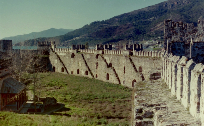 A castle on the Turkish Mediterranean, 1998