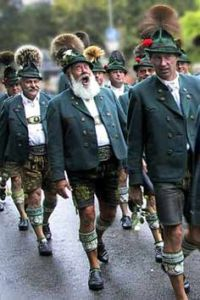 A photo of Bavarian Trachten from Pintrest