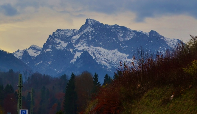 The mountains around Berchtesgaden, Germany.