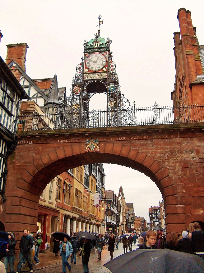 South Gate Clock, Chester, England