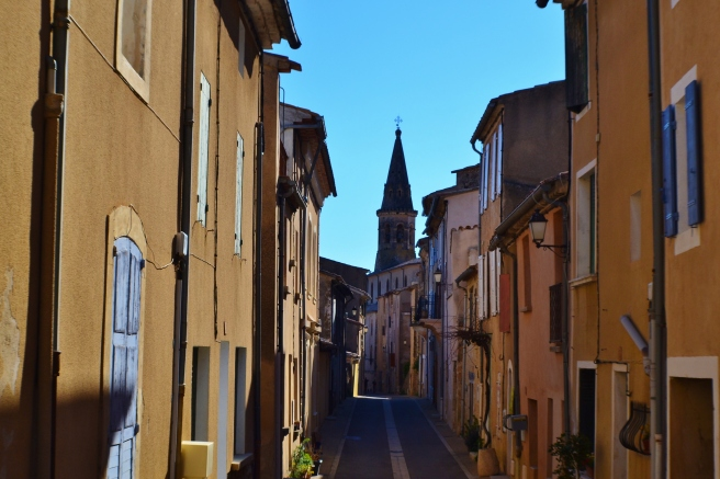 The road to redemption, St. Saturnin, France