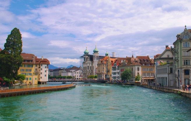 In the city of Lucerne