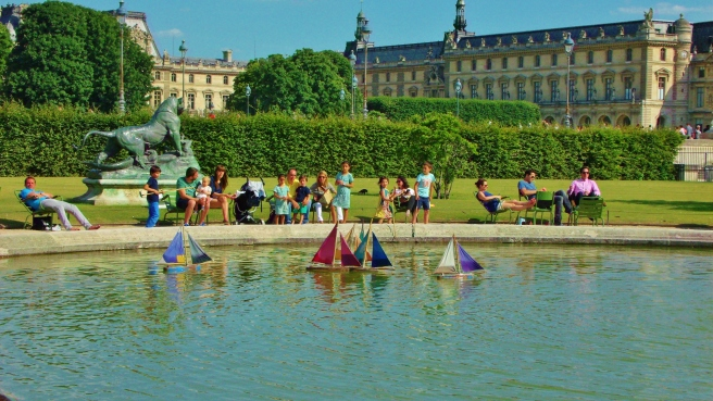 Tuileries, looking toward the Louvre