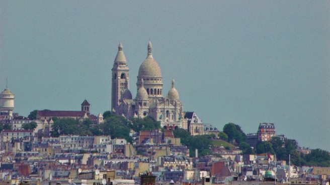 As seen from the roof of the Musee d'Orsay