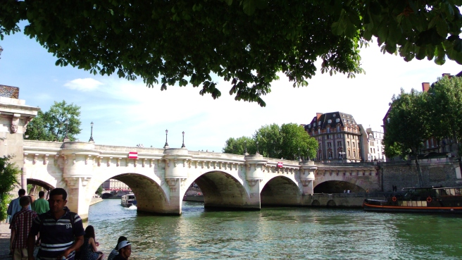 The Pont Neuf, Paris.  June 2015