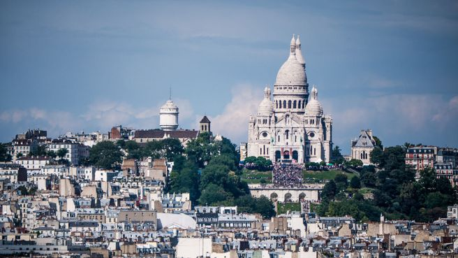 "A stunning photo--not taken by me.  Creative Commons image, ""La Basilique du Sacré-Cœur de Montmartre vue de la Tour Saint-Jacques, Paris août 2014"" by Yann Caradec from Paris, France - La Basilique du Sacré-Cœur de Montmartre vue de la Tour Saint-Jacques. Licensed under CC BY-SA 2.0 via Wikimedia Commons - https://commons.wikimedia.org/wiki/File:La_Basilique_du_Sacr%C3%A9-C%C5%93ur_de_Montmartre_vue_de_la_Tour_Saint-Jacques,_Paris_ao%C3%BBt_2014.jpg#/media/File:La_Basilique_du_Sacr%C3%A9-C%C5%93ur_de_Montmartre_vue_de_la_Tour_Saint-Jacques,_Paris_ao%C3%BBt_2014.jpg"