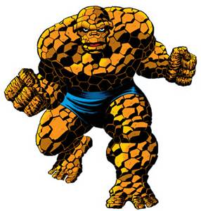 The Thing, copyright Marvel Comics
