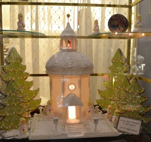 The chapel where Stille Nacht /Silent Night was written--commemorated in sugar.