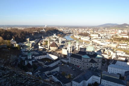 View from Hohensalzburg