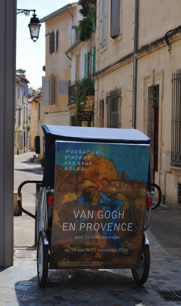 In the streets of Arles.