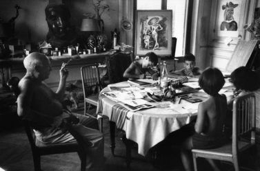 Picasso at Home, by Rene Burri