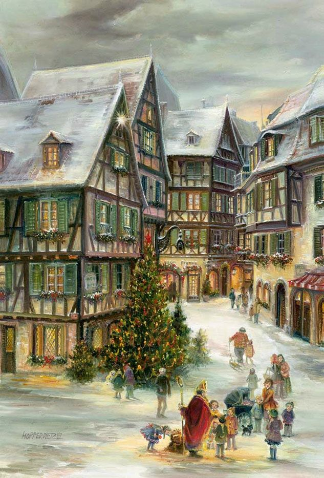 Christmas in Colmar advent calendar