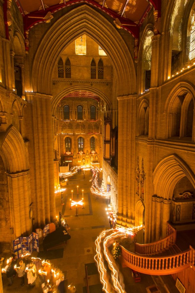 Photo courtesy of @Riponcathedral twitter